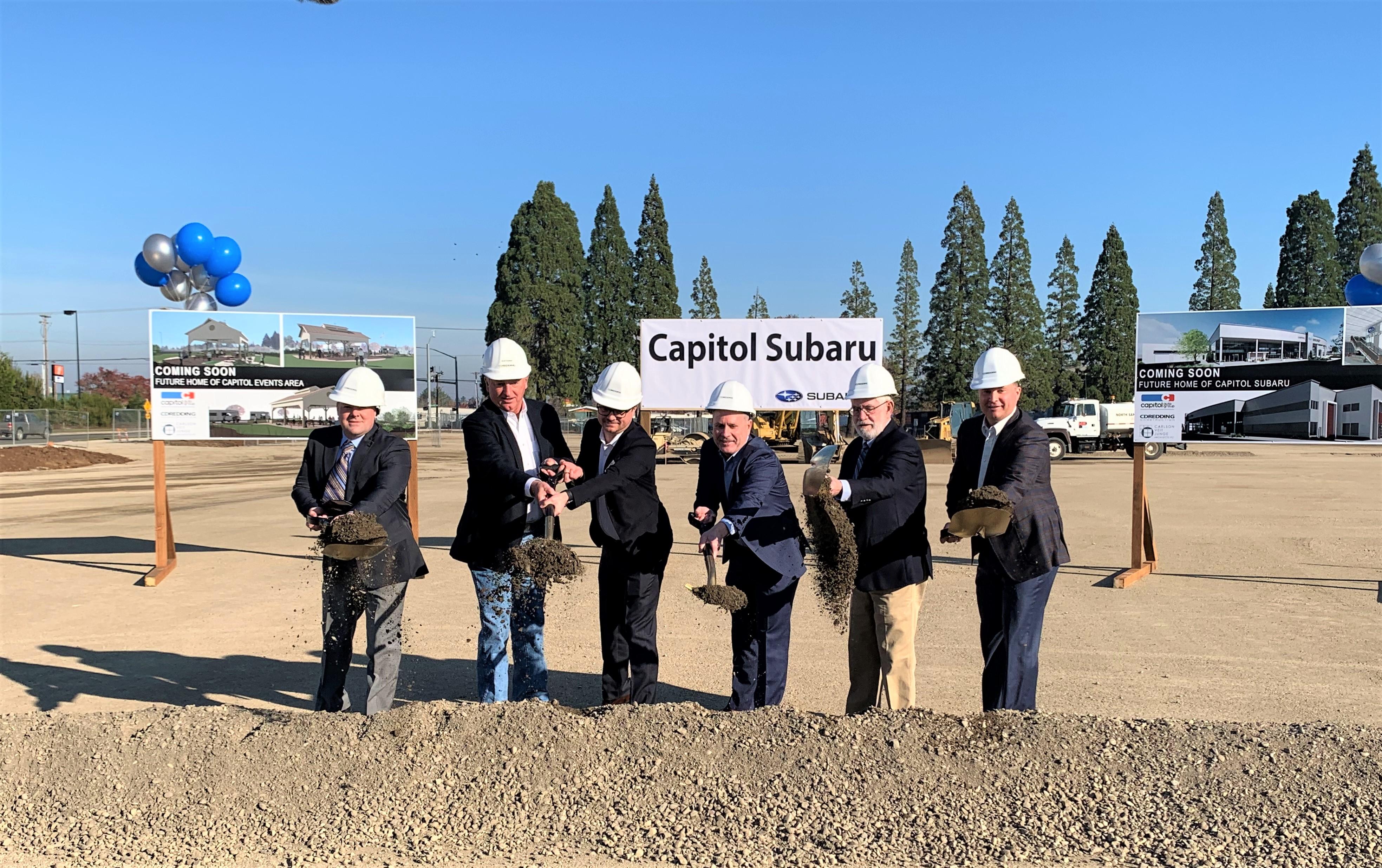 Capitol Subaru Salem Oregon >> Salem S Capitol Auto Group Breaks Ground For New 70 000 Sq